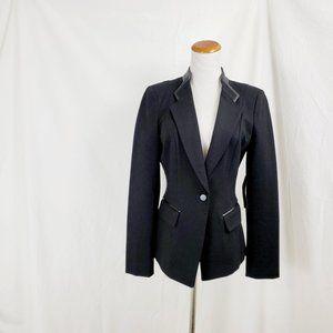 White House 6 Black Market Ponte Blazer Jacket NWT